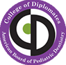 College of Diplomates American Board of Pediatric Dentistry